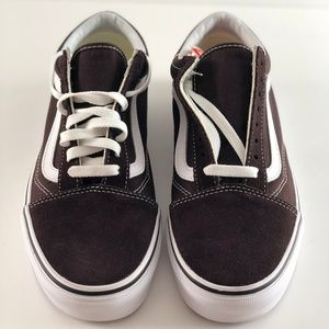 6adf570db05 Vans Shoes - NWT Vans Old Skool Chocolate Torte True White